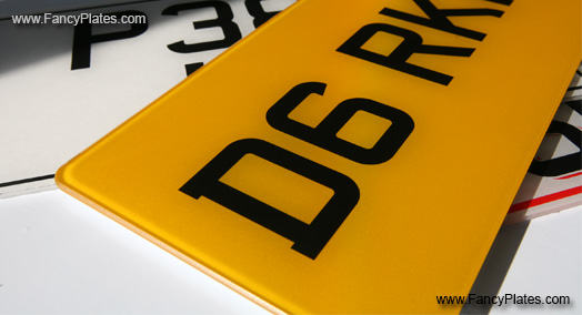 Custom Size Number Plates